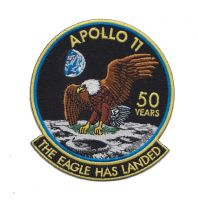 Apollo 11 50 Years The Eagle Has Landed Patch